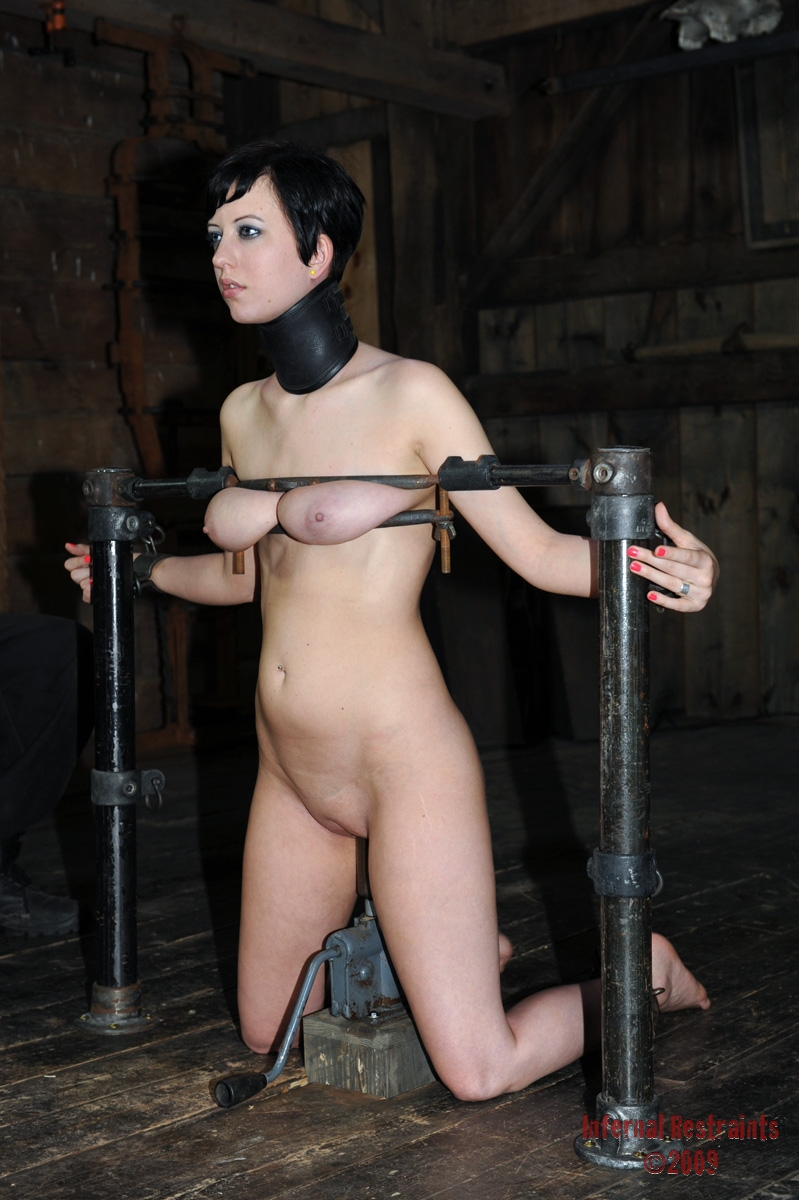 Tied elise graves pussy punished and hardcore bdsm of enslav - 3 part 1