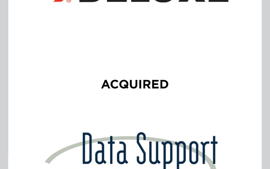 Cherry Tree Advises Deluxe Corporation on Acquisition of Data Support Systems, Inc.