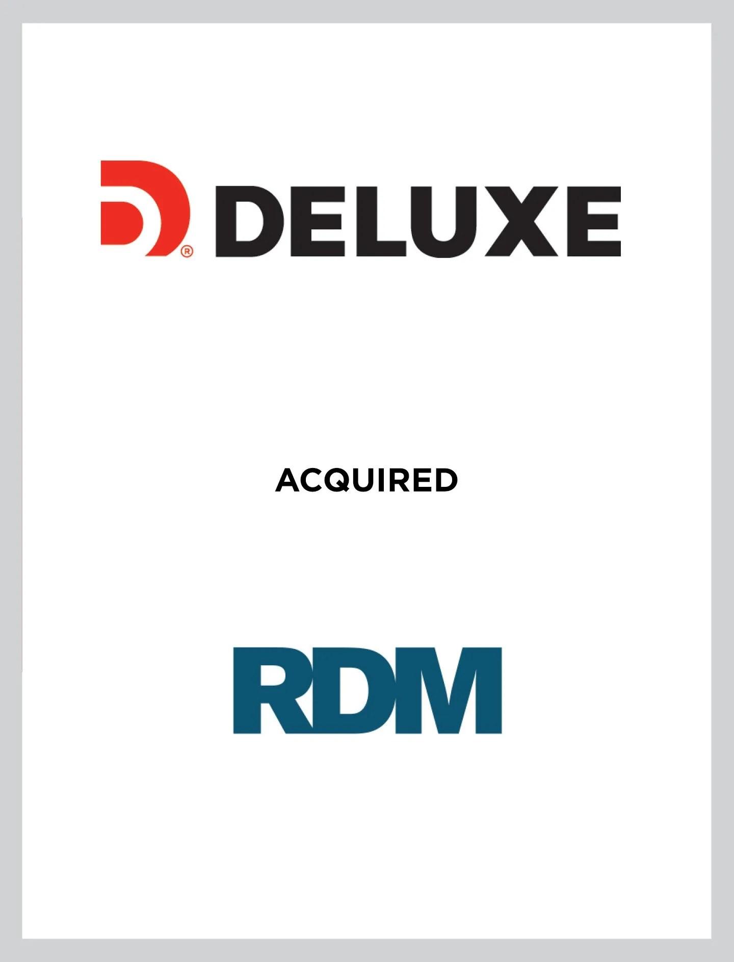 Deluxe/RDM Case Study