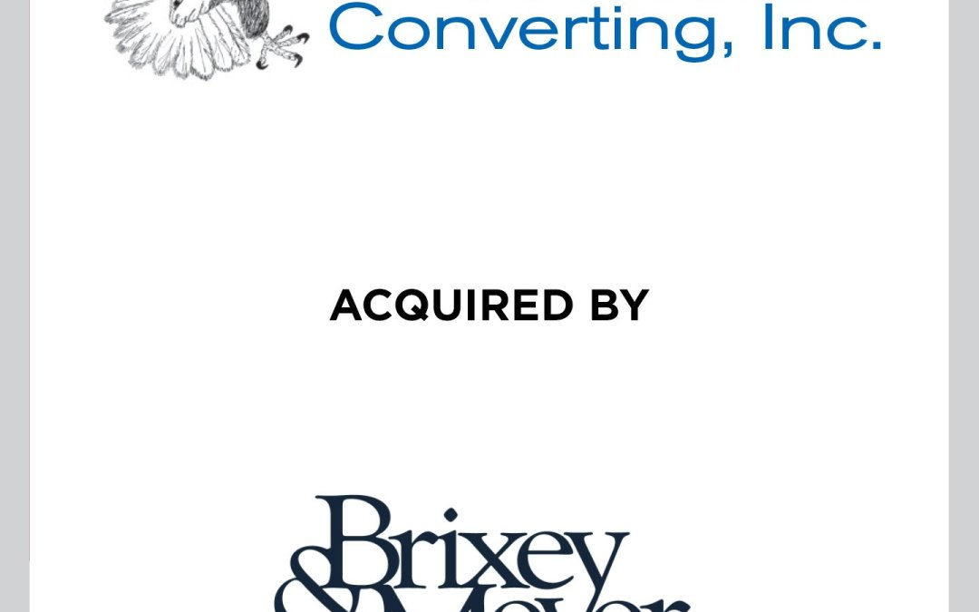 Cherry Tree advises Patriot Converting, Inc. on its sale to Brixey & Meyer Capital