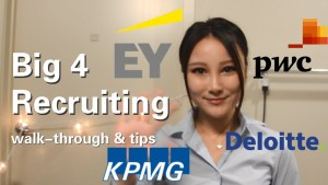 recruitment process of the big 4 accounting firms