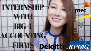 INTERNSHIP EXPERIENCE in ACCOUNTING FIRMS