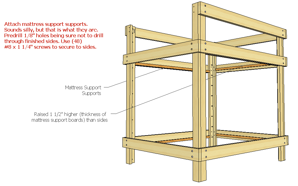 Woodwork Loft Bed Plans Queen Free PDF Plans
