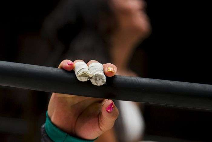 Профессиональный женский реслинг в Японии (16 фото)