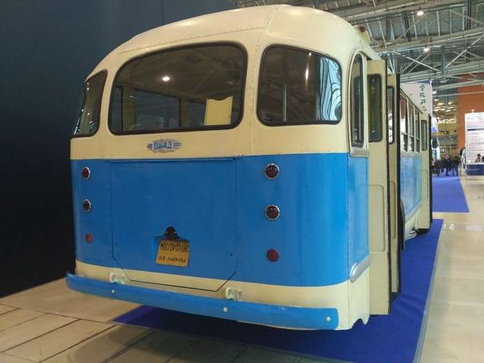 На выставке ретро автобусов и троллейбусов URBAN TRANSPORT-36 фото-