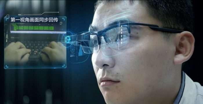 Китайские полицейские получили очки, которые помогают распознавать преступников
