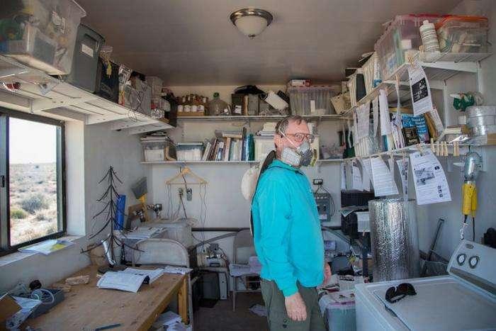 Городок в Аризоне стал спасением для людей с аллергией -на современную жизнь- -6 фото-