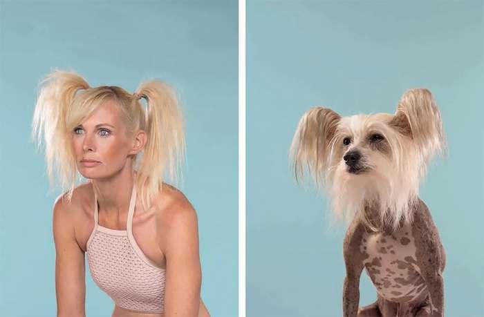 Удивительное сходство собак и их владельцев на фотографиях