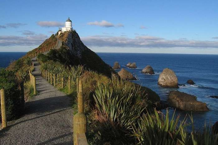 Маяк Наггет Поинт: райский уголок в Новой Зеландии