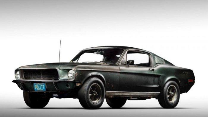 Возможно самый дорогой Mustang в истории выставлен на аукцион — это оригинальный Bullitt Стива Маккуина-22 фото + 1 видео-