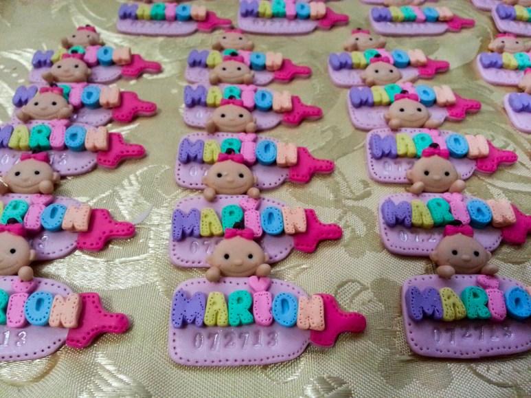 nameplate magnet souvenirs cherub