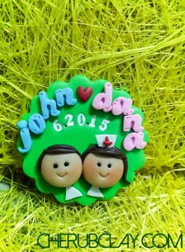 This is just a sample for approval for a wedding souvenir/giveaways, colors, design, etc is customisable