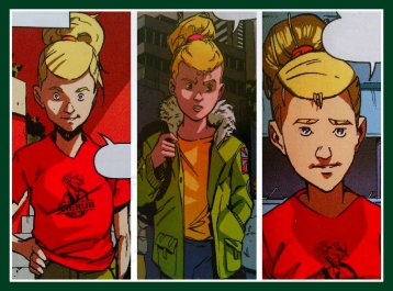 Lauren dans la Bande dessinée