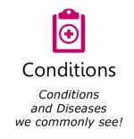 conditions icon box in red