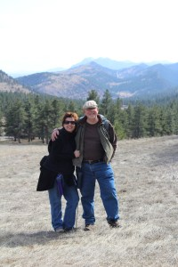 A snapshot of us in Our Rockies.