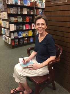 So much fun to sign books at Barnes & Noble.