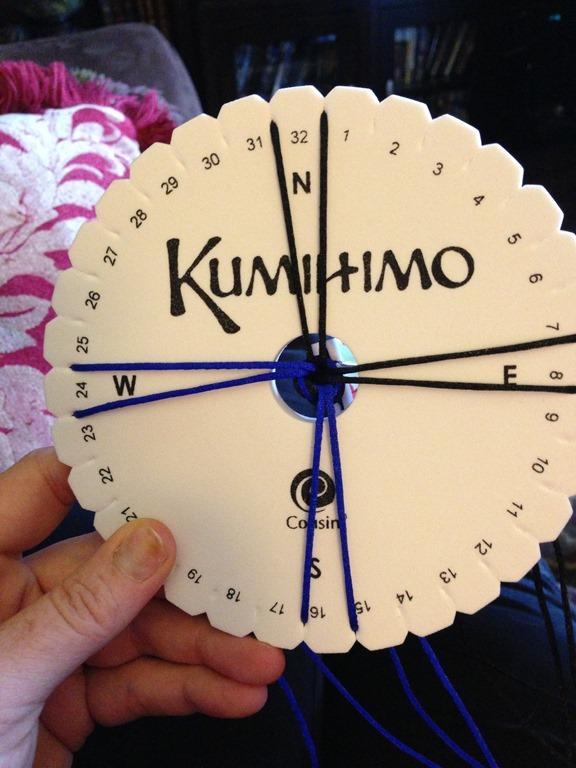 Kumihimo & Chain Bracelet with Charm - Cheryl Boglioli Designs