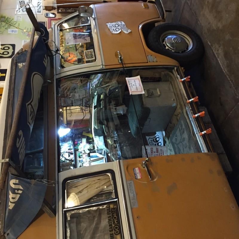 Route 66 Volkswagon Bus
