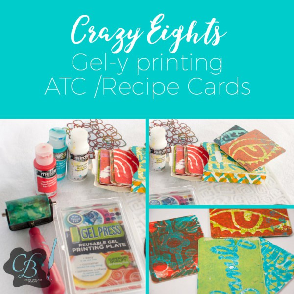 Meet Me in North Carolina at Paper Crafter's Muse for Gel Printing Classes
