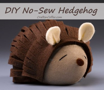 Debra Quartermain No Sew Hedgehog
