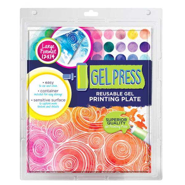 Gel Press plate 12x14 10804