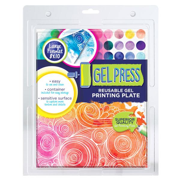 gel press plate 8x10 10802