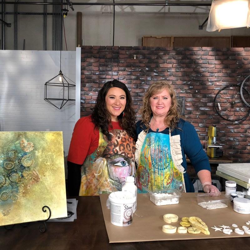 Make It Artsy Nov 2017 with Julie Balzer
