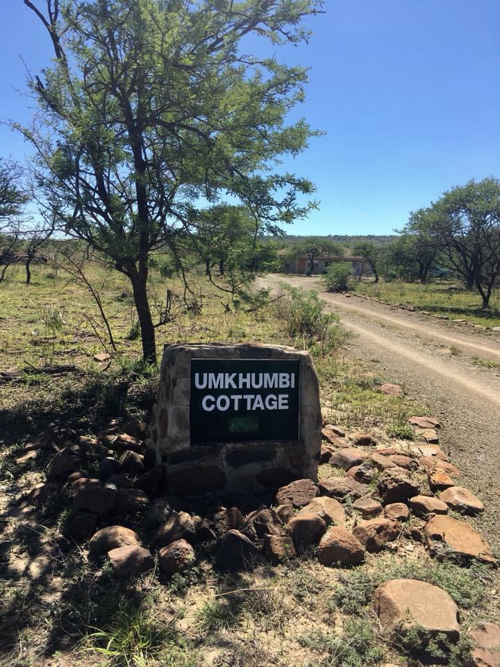 Sign to Umkhumbe cottage
