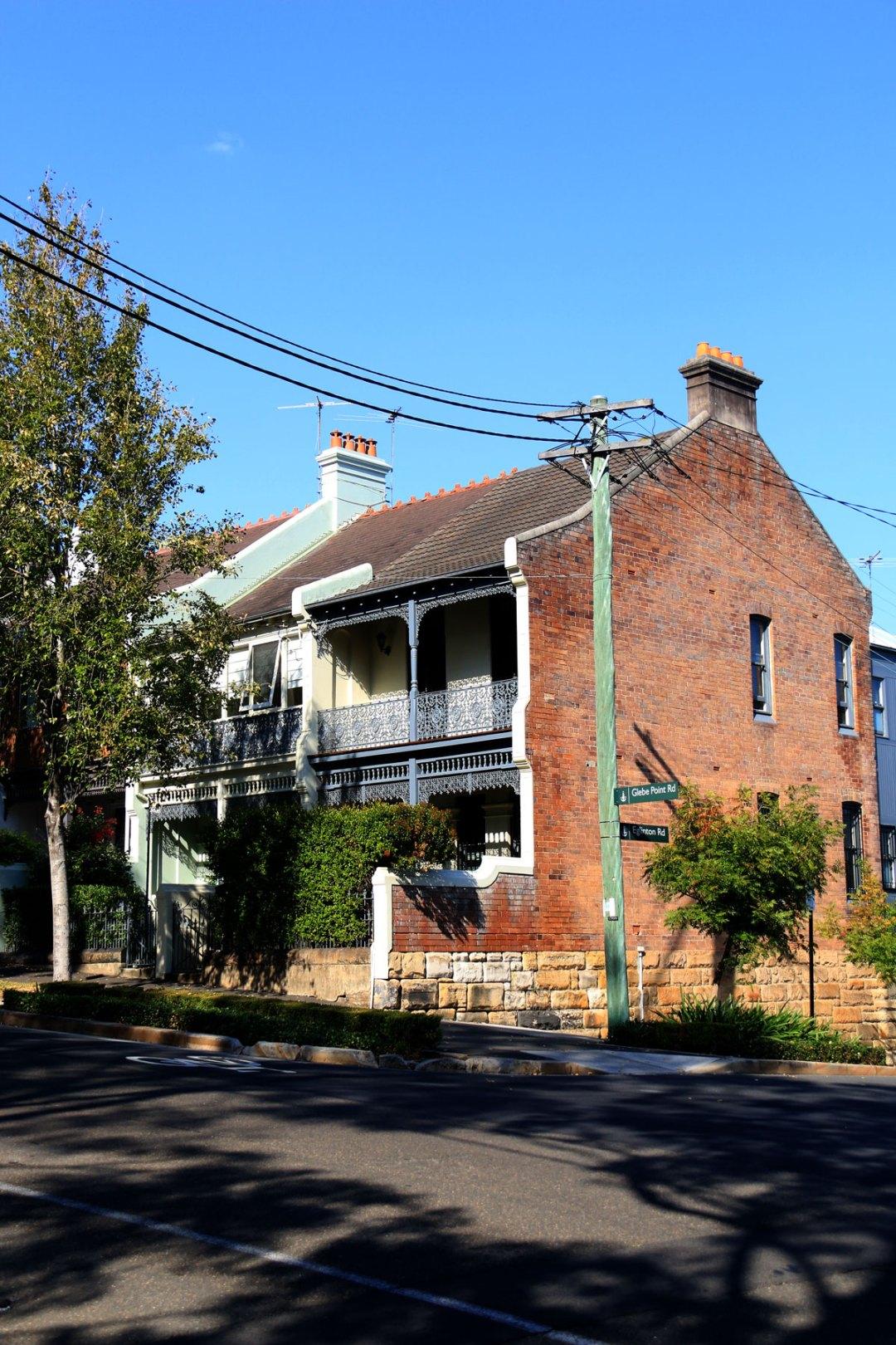 Glebe Terrace Houses