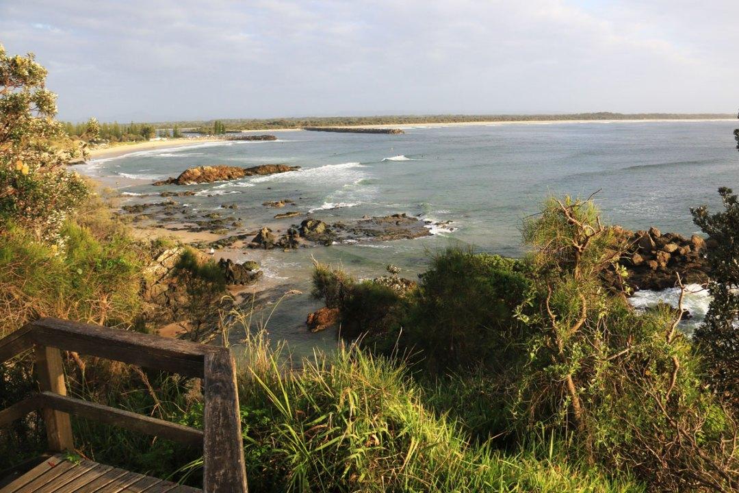 Coastal walk in Port Macquarie