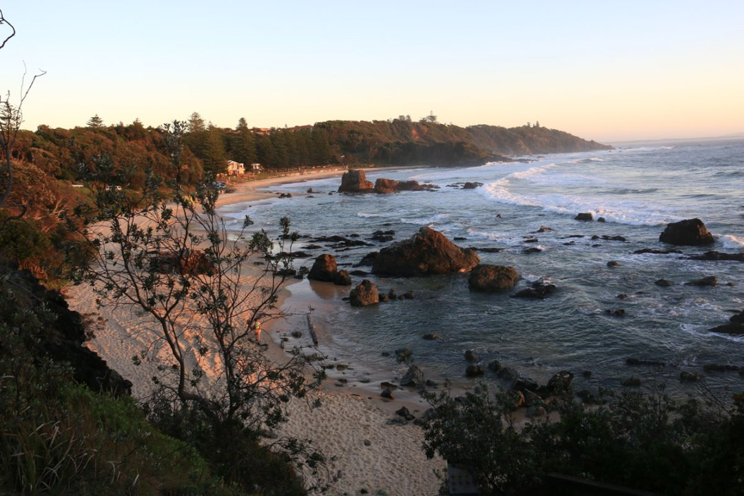 View from Coastal Walk to Sea Acres National Park, Port Macquarie