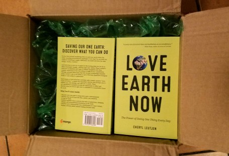 Box of Love Earth Now books
