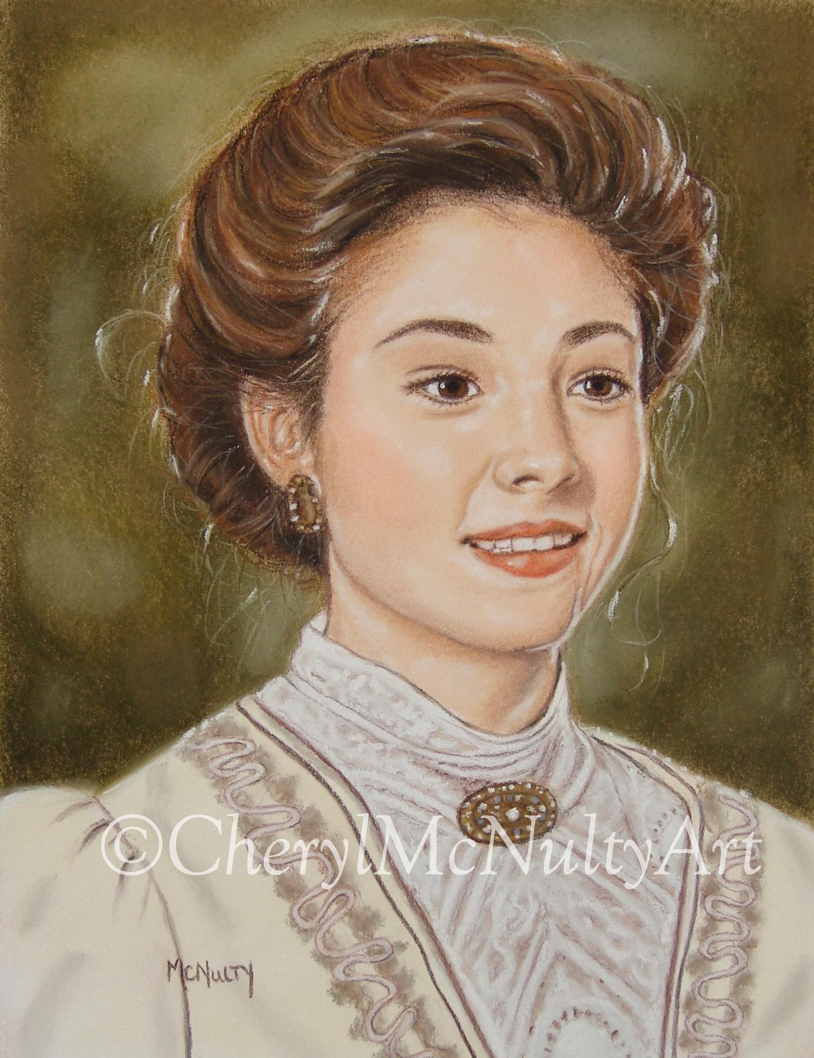 Anne Of Green GablesMegan Follows Painting
