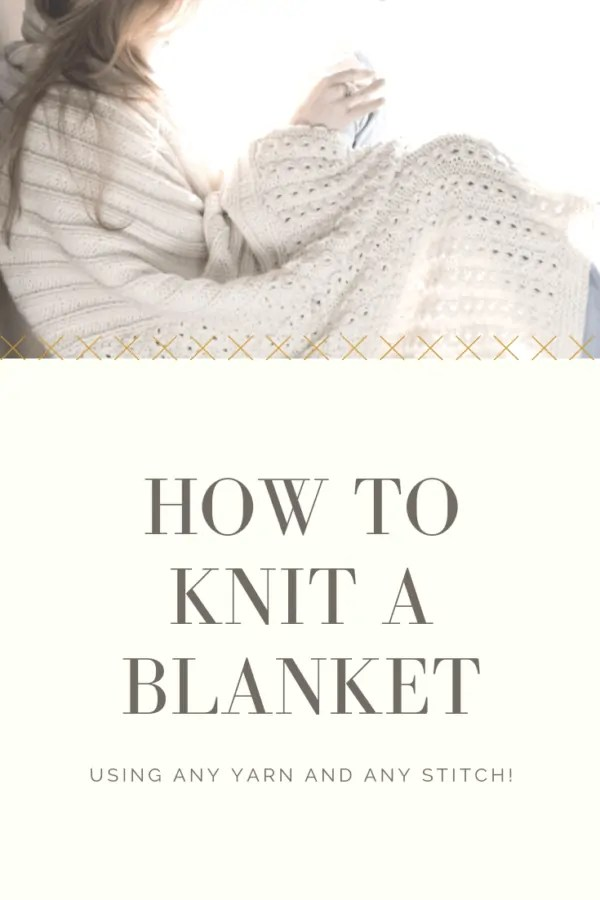 Design and knit a blanket with Vickie Howell