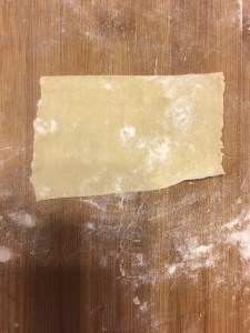 sheet cut to noodle length