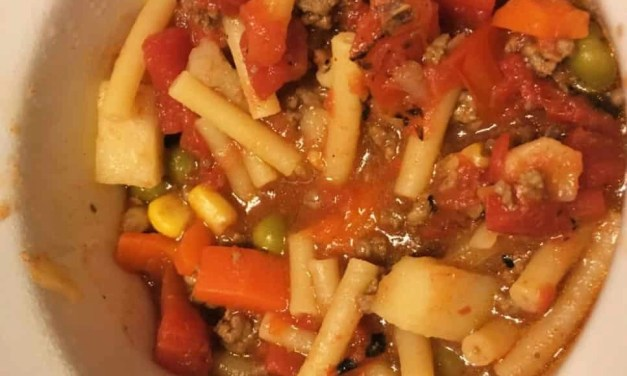 Pasta Fazool (Pasta e Fagioli) with Taco Meat or Not