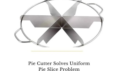 Six Slice Pie Cutter Solves Your Uniform Pie Slice Problem