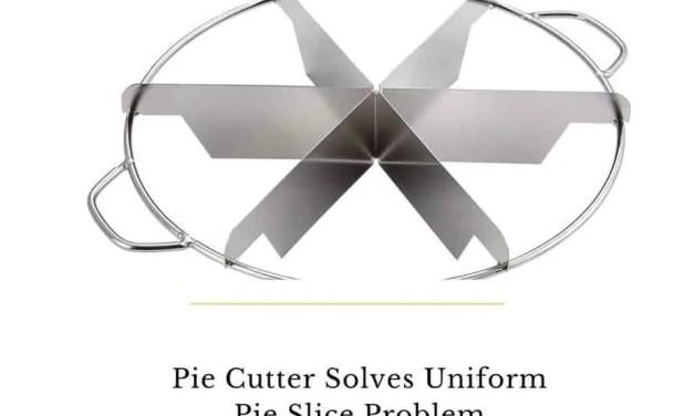 Six Slice Pie Cutter Solves Your Uniform Pie Slice Problem