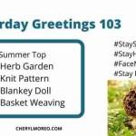 Saturday Greetings 103
