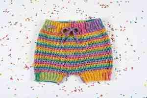 crochet toddler shorts