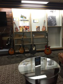 guitar section upstairs