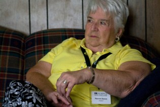 For Fleurette, her training and experience as a hospice volunteer have changed her own feelings about death. She says the fear and dread are gone, and she is comfortable with death as just a part of life.