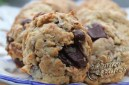 Delicious and wafting with chocolate goodness-Coconut Chocolate Chip Cookies with Walnuts
