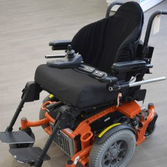Wheelchair Base Glider Chair Covers Canada Review Of 5 Mid Wheel Drive Power Wheelchairs Cheryl S Seating Notes The Quickie Xperience Is A Rugged And Powerful It Has G3 Coil Spring Suspension Which Been Reported To Be One Best In