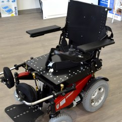 Wheelchair Express Ergonomic Work Chair Standing Power With Added Seating Modifications