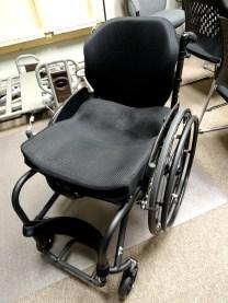 Tilite TR Series 3 carbon fiber rigid manual wheelchair with Ride custom cushion and ADI deep backrest