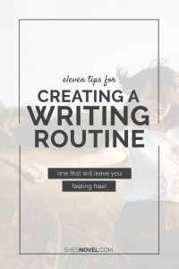 200 posts. 11 tips for creating a writing routine