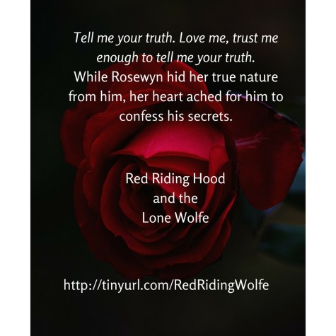 Red Riding Hood and the Lone Wolfe quote