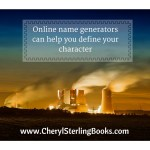 What to name your fictional character www.cherylsterlingbooks.com