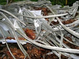 fantastical shapes B-18 bomber crash stie July 24, 2010